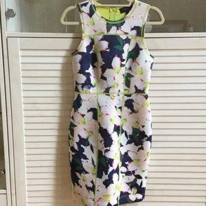 Never worn jcrew floral dress siZe 2